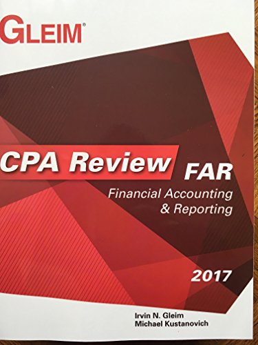 Review Accounting - CPA Review: Financial Accounting & Reporting