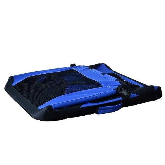 Transportín de tela plegable - Caseta de perros portátil - Transportín plegable para perros - Transporta mascotas para coches - Corralito para mascotas ...