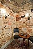 VINE   RE   DESIGN 40 Wine Crate Panels Assorted & Branded Sides, Ends, Tops Wood