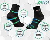 ZaTech Plantar Fasciitis Sock, Ankle Compression