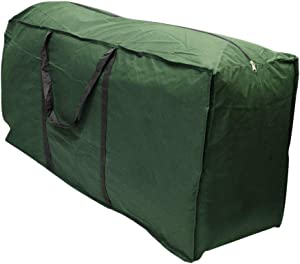 Linkool Outdoor Patio Furniture Seat Cushions/Cover Storage Bag with Strong Zipper and Handles Waterproof