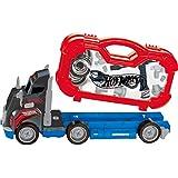 Monte Seu Caminhão Hot Wheels Azul