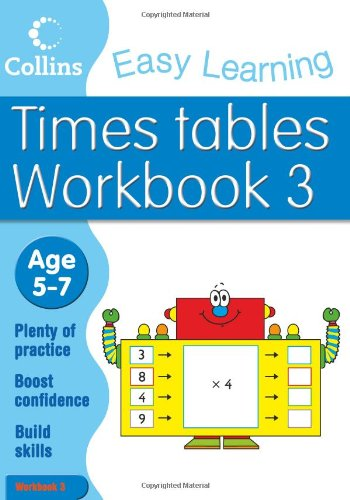 Times Tables Workbook 3 (Collins Easy Learning Age 5-7) pdf