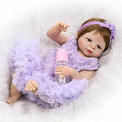 Amazon.com: NPK Reborn Baby Doll Vinyl Silicone Soft 23 Inch ...