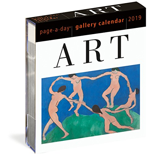 Art Page-A-Day Gallery Calendar 2019 (Best Art Exhibitions 2019)