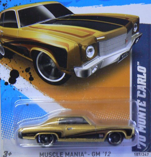 2012 Hot Wheels Muscle Mania - GM '70 Monte Carlo - 7/10 - 107/247