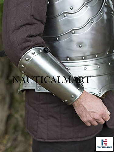 (Steel Bracers Balthasar Armor Set By Nauticalmart)