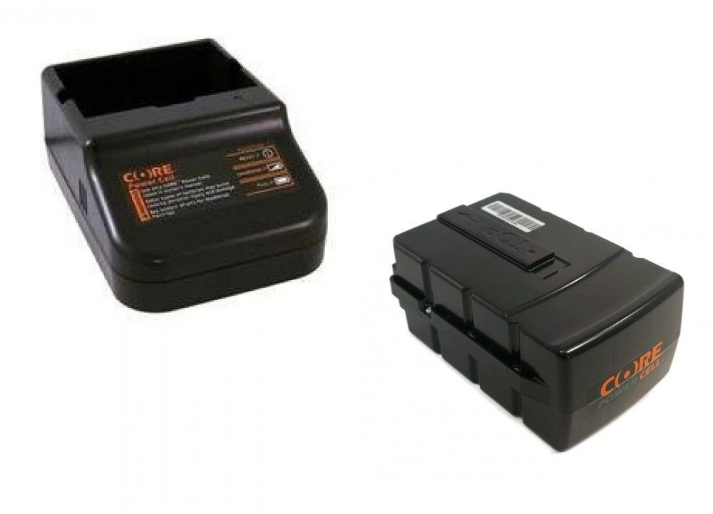 New CORE CSC6500-S STANDARD BATTERY CHARGER & CFC6500 POWER CELL BATTERY CGT400