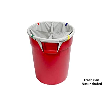Autofiber [Dirty Towel Separator] Bag Insert for Standard 32 Gallon Trash Can - 4 Sections: Automotive