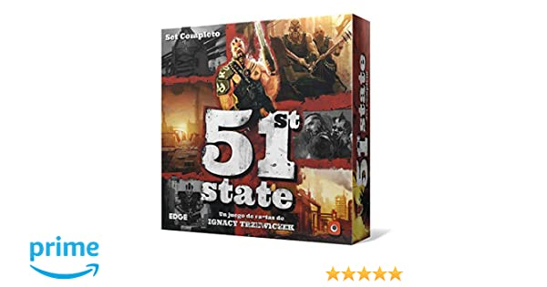 Edge Entertainment-51st State, Set Completo (EEPG5101): Amazon.es ...