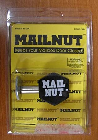 Mail Nut Keeps Your Mailbox Door Closed Security Mailboxes