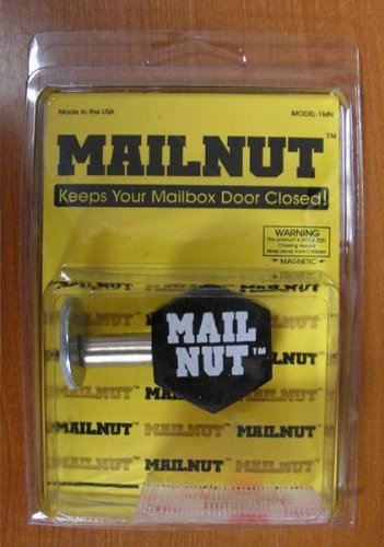 Mail Nut - Keeps Your Mailbox Door Closed & Mail Nut - Keeps Your Mailbox Door Closed - Security Mailboxes ...