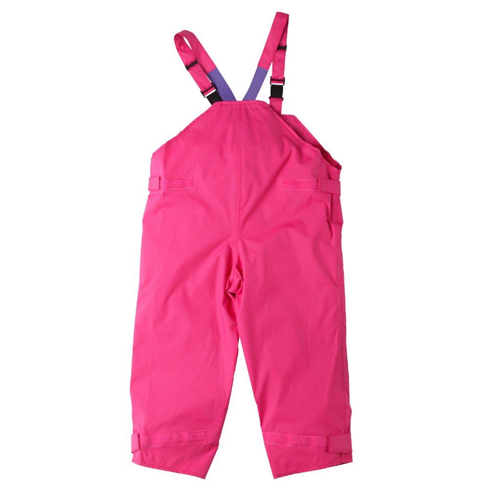 Togz 12-18 mth Pink Waterproof Dungarees - 83cm