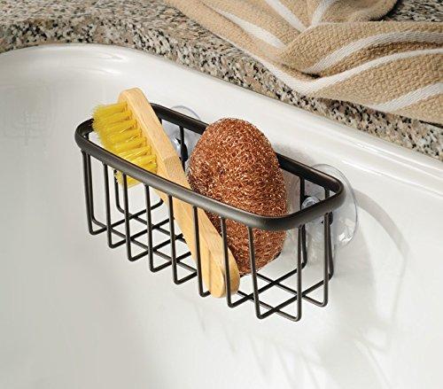 mDesign Kitchen Suction Sponges Brushes