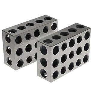 BL-123 Pair of 1″ x 2″ x 3″ Precision Steel 1-2-3 Blocks