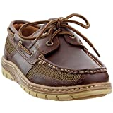 Sperry Mens Tarpon Ultralite 2-Eye Boat Shoe, Dark Brown, 10