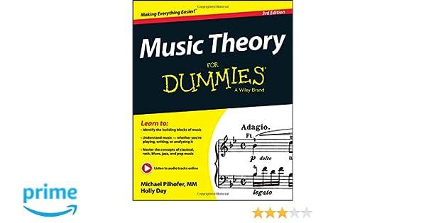 Music Theory For Dummies: Amazon.es: Michael Pilhofer, Holly Day: Libros en idiomas extranjeros