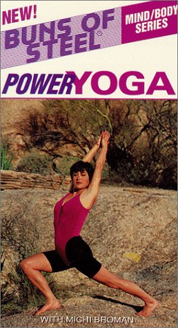Buns of Steel: Power Yoga [VHS] by Atlantic