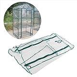 Yosoo123 Greenhouse Plastic Cover Portable Garden Green House Warm for Flower Plants Gardening Outdoor (27×19×49in)