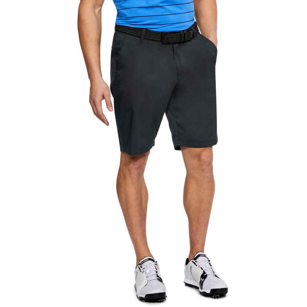 Under Armour Men's Showdown Tapered Golf Shorts, Black (001)/Black, 28 by Under Armour