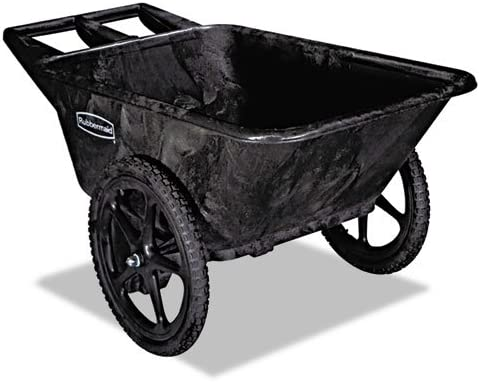 RCP5642BLA – Big Wheel Utility Cart