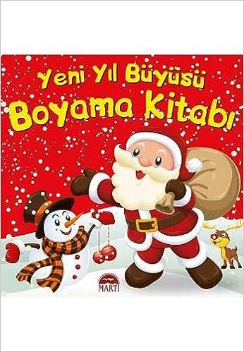 Yeni Yil Buyusu Boyama Kitabi Pedagog Aysen Oy 9786053488866