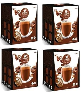 Cápsulas Compatibles Dolce Gusto®* Origen Sensations Chocolate 64 bebidas: Amazon.es: Alimentación y bebidas