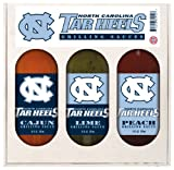 8 Pack NORTH CAROLINA Tarheels Grilling Gift Set 3-12 oz