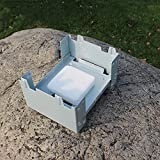 Nologo Xiaoxian Outdoor Portable Mini Cooking Stove Picnic Cooker Barbecue Solid Fuel Alcohol Burners Oven Foldable Backpacking Camping
