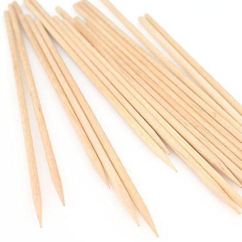 """Price comparison product image CLEARANCE - Selected White Birch Wooden Skewer Sticks for Kabob,  Crafts,  etc - 10"""" x 11 / 64"""" Diameter - Pack of 24 Skewers - We Ship Within 1 Business Day w / *FREE Standard Shipping!"""
