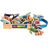 T.S. Shure Sea Creatures Wooden Magnets 20 Piece MagnaFun Set