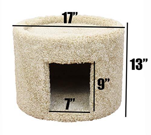 New Cat Condos Premier Cat Cave, Beige