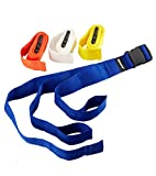 Sporti Lifeguard Backboard Strap Set, Color Coded with Side Release Double Adjusting Buckles, Measures 52'' x 2'', Easy to Use, White/Blue/Yellow/Orange