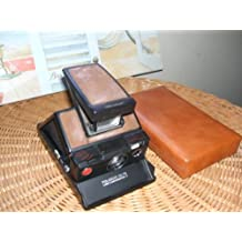 Polaroid SX-70 Model 3 Black on Black EXC++ WORKS!!