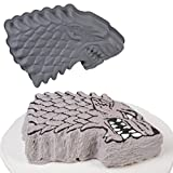 Game Of Thrones Stark Silicone Cake Pan Mold - Dire Wolf House Stark Crest Symbol - Great for GoT Themed Parties and Events