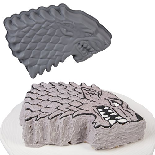 Game Of Thrones Novelty Stark Sigil Silicone Cake (Game Cake)