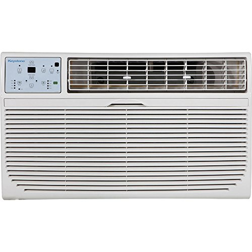 Keystone KSTAT10-2C 10000 BTU 230V Through-the-Wall Air Conditioner with ''Follow Me'' LCD Remote Control by Keystone