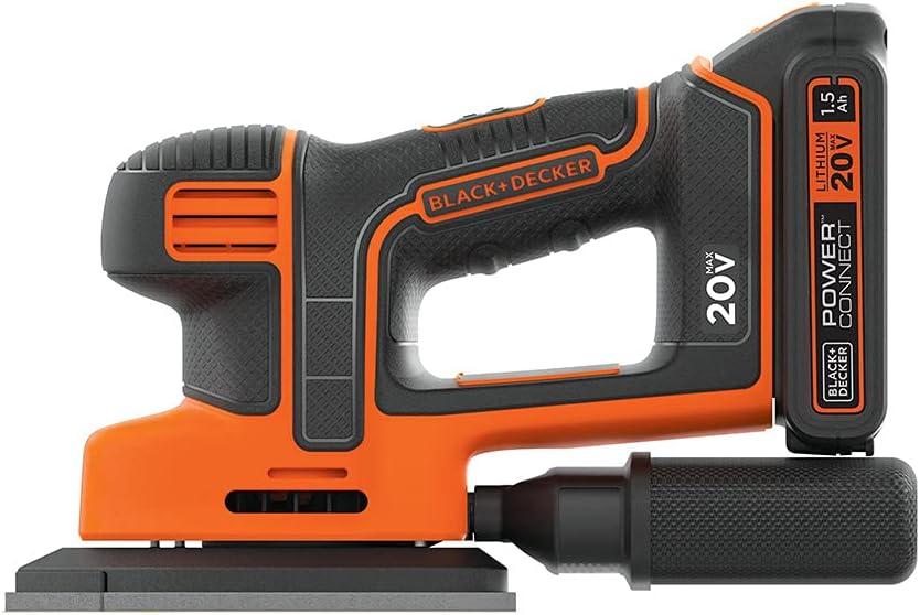BLACK+DECKER 20V MAX Sheet Sander (BDCMS20C)