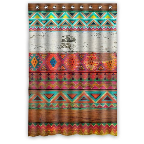 Amazon Natural Pattern Aztec Shower Curtain 60 By 72 Clothing