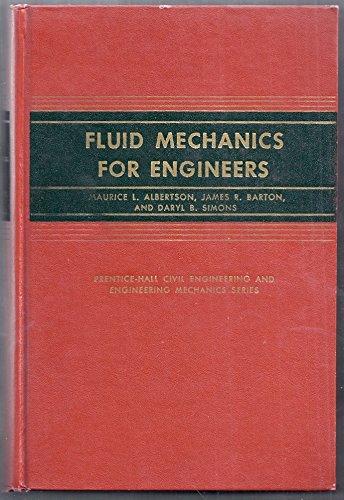 Fluid Mechanics for Engineers