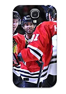 New Style Case Cover FLyrijK2356WzbIY Chicago Blackhawks (110) Compatible With Galaxy S4 Protection Case