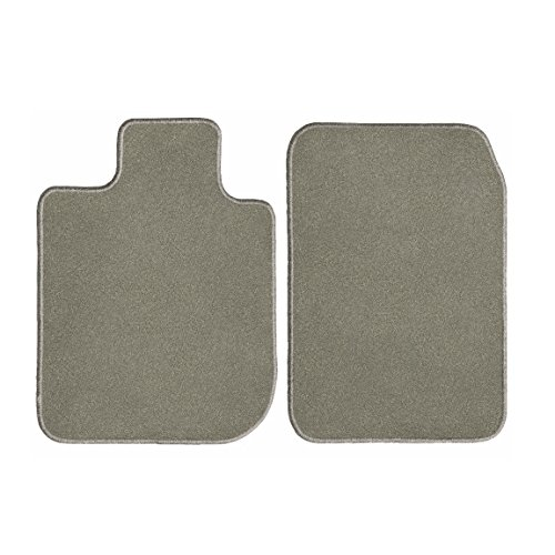 GG Bailey D50022-F1A-GY Front Set Custom Fit Floor Mats for Select Hyundai Accent Models - Nylon Fiber (Grey)