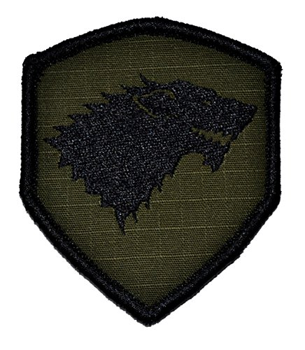 m 2x3.5 Shield Morale Patch with Hook Fastener - Multiple Colors (Olive Drab/OD) (Emblem Olive Drab)