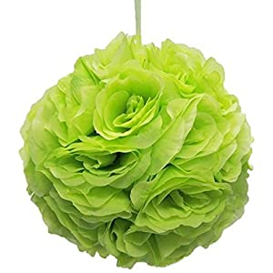 "Ben Collection 7"" Pomander Flower Kissing Ball Multi Color Home Wedding Decoration 26"
