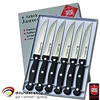 6 Stück Jausenmesser Tafelmesser Brotzeitmesser RÖR 10290