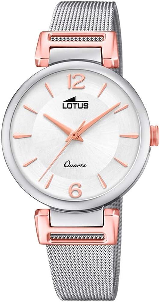 Lotus Reloj para de Cuarzo con Correa en Acero Inoxidable 18647/2