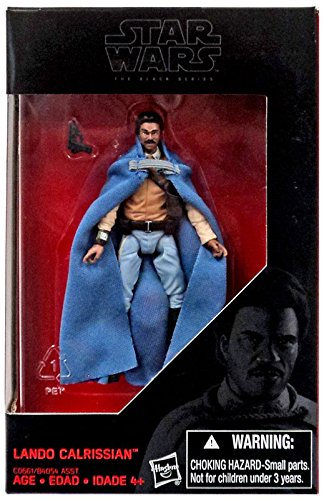 Star Wars, 2016 The Black Series, Lando Calrissian Exclusive Action Figure, 3.75 Inches - Exclusive Series