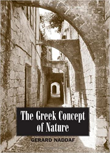 The Greek Concept of Nature (SUNY series in Ancient Greek Philosophy)