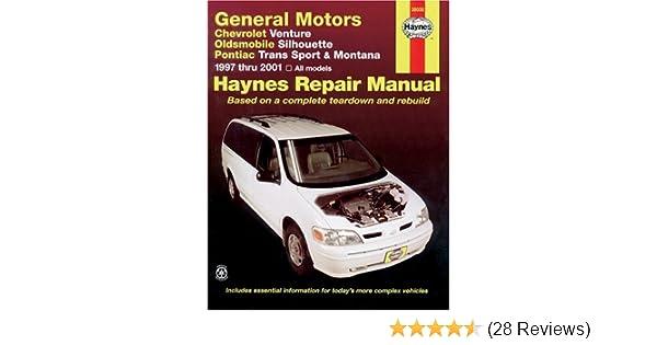 Amazon Haynes General Motors Chevrolet Venture Oldsmobile Rhamazon: 2001 Chevy Venture Repair Manual At Cicentre.net