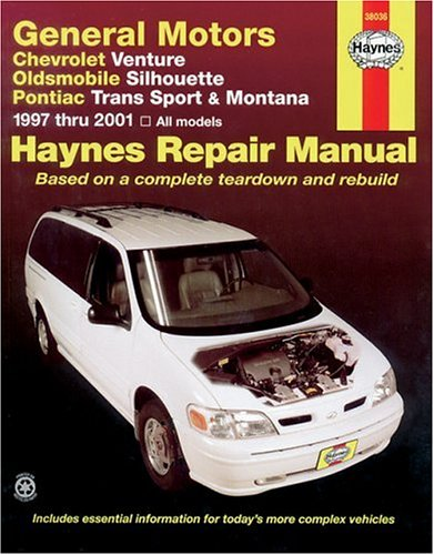 Haynes General Motors: Chevrolet Venture, Oldsmobile Silhouette, Pontiac Trans Sport and Montana (97-05) Manual (38036)